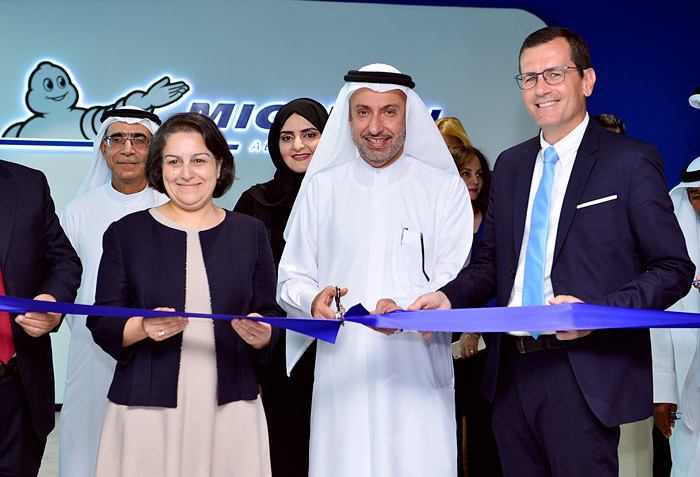 Michelin Company Inauguration at DAFZA
