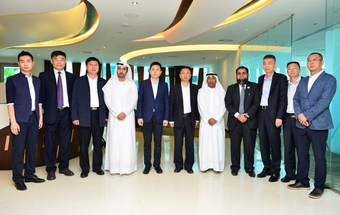 DAFZA welcomes Chinese Delegation
