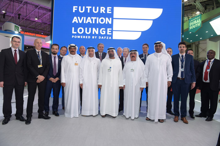 futur aviation lounge by DAFZA