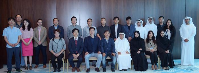 Korean Delegation at DAFZA
