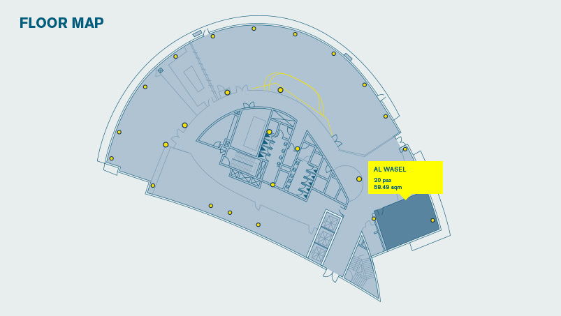 Al Wasl floor Map DAFZA